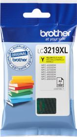 BROTHER ORIGINAL - Brother LC-3219 XL Jaune (1500 pages) Cartouche de marque