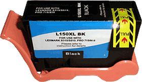 COMPATIBLE LEXMARK - 150XL / 14N1614 Noir (750 pages) Cartouche encre générique