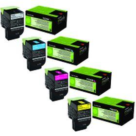 LEXMARK ORIGINAL - Lexmark 702H Pack de 4 Toners de marque