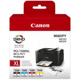 CANON ORIGINAL - CANON PGI-1500XL Pack de 4 cartouches 9182B004