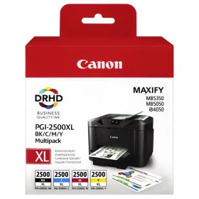 CANON ORIGINAL - CANON PGI-2500XL Pack de 4 cartouches 9254B004