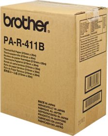 BROTHER ORIGINAL - Brother PA-R411 B Lot x6 rouleaux de transfert thermique