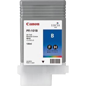 CANON ORIGINAL - Canon PFI-101 Bleu (130 ml) Cartouche de marque