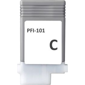 COMPATIBLE CANON - PFI-101 Cyan (130 ml) Cartouche alternative