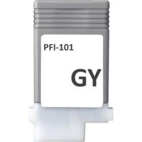 COMPATIBLE CANON - PFI-101 Gris (130 ml) Cartouche alternative