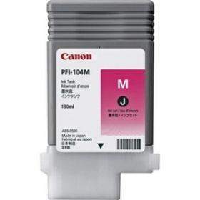 CANON ORIGINAL - Canon PFI-104 Magenta (130ml) Cartouche de marque