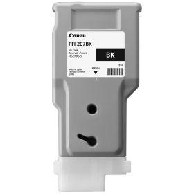 CANON ORIGINAL - Canon PFI-207 Noir (300 ml) Cartouche de marque