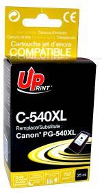 UPRINT - UPrint PG540XL Noire (25 ml) Cartouche remanufacturée Canon Qualité Premium