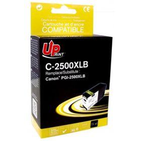 UPRINT - UPrint PGI-2500 XL Noir Cartouche compatible Canon Qualité Premium