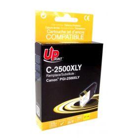 UPRINT - UPrint PGI-2500 XL jaune Cartouche compatible Canon Qualité Premium