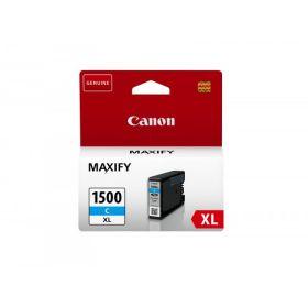 CANON ORIGINAL - Canon PGI-1500 XL Cyan (12 ml) Cartouche de marque