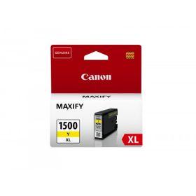 CANON ORIGINAL - Canon PGI-1500 XL Jaune (12 ml) Cartouche de marque