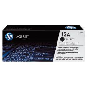 HP ORIGINAL - HP 12A / Q2612A Noir (2000 pages) Toner de marque