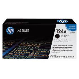 HP ORIGINAL - HP 124A / Q6000A Noir (2500 pages) Toner de marque