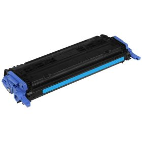RECYCLE HP - 124A / Q6001A Cyan (2000 pages) Toner remanufacturé