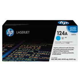 HP ORIGINAL - HP 124A / Q6001A Cyan (2000 pages) Toner de marque