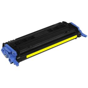 RECYCLE HP - 124A / Q6002A Jaune (2000 pages) Toner remanufacturé