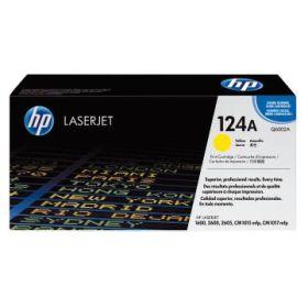 HP ORIGINAL - HP 124A / Q6002A Jaune (2000 pages) Toner de marque
