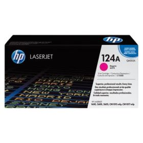 HP ORIGINAL - HP 124A / Q6003A Magenta (2000 pages) Toner de marque