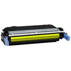 RECYCLE HP - 644A / Q6462A Jaune (12000 pages) Toner remanufacturé