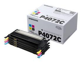 SAMSUNG ORIGINAL - Samsung P4072C Pack de 4 toners (Noir, cyan, magenta, jaune) de marque