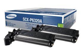 SAMSUNG ORIGINAL - Samsung SCX-P6320A Noir (2 x 8000 pages) Pack de 2 toners de marque
