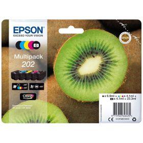 EPSON ORIGINAL - Epson 202 Pack x 5 cartouches de marque