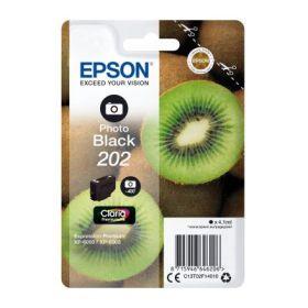 EPSON ORIGINAL - Epson 202 Photo Noir (4,1 ml) Cartouche de marque