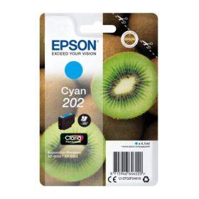EPSON ORIGINAL - Epson 202 Cyan (4,1 ml) Cartouche de marque