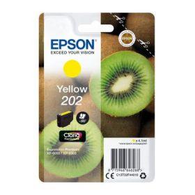 EPSON ORIGINAL - Epson 202 Jaune (4,1 ml) Cartouche de marque