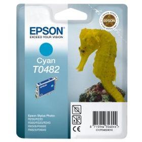 EPSON ORIGINAL - Epson T0482 Cyan (13 ml) Cartouche de marque