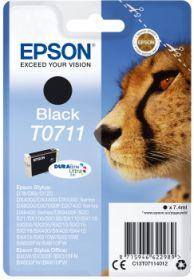 EPSON ORIGINAL - Epson T0711 Noir Cartouche de marque