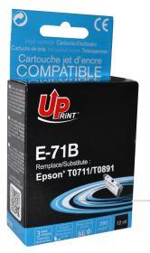 UPRINT/ QUALITE PREMIUM - UPrint T0711 Noir Cartouche remanufacturée Epson Qualité Premium