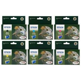 EPSON ORIGINAL - Epson T079 - Pack de 6 cartouches de marque