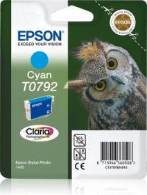 EPSON ORIGINAL - Epson T0792 Cyan Cartouche de marque