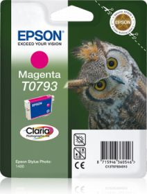 EPSON ORIGINAL - Epson T0793 Magenta Cartouche de marque