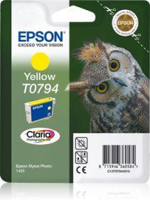 EPSON ORIGINAL - Epson T0794 Jaune Cartouche de marque