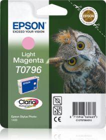 EPSON ORIGINAL - Epson T0796 Magenta Clair Cartouche de marque