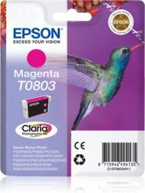 EPSON ORIGINAL - Epson T0803 Magenta (7,4 ml) Cartouche de marque