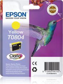 EPSON ORIGINAL - Epson T0804 Jaune (7,4 ml) Cartouche de marque