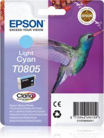 EPSON ORIGINAL - Epson T0805 Cyan Clair (7,4 ml) Cartouche de marque