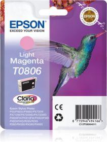 EPSON ORIGINAL - Epson T0806 Magenta Clair (7,4 ml) Cartouche de marque