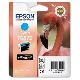 EPSON ORIGINAL - Epson T0872 Cyan (11 ml) Cartouche de marque