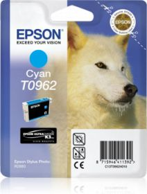 EPSON ORIGINAL - Epson T0962 Cyan (11,4 ml) Cartouche de marque