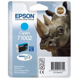 EPSON ORIGINAL - Epson T1002 Cyan (11,1 ml) Cartouche de marque