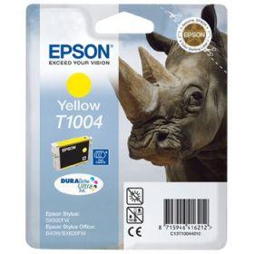 EPSON ORIGINAL - Epson T1004 Jaune (11,1 ml) Cartouche de marque