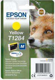 EPSON ORIGINAL - Epson T1284 Jaune (3,5 ml) Cartouche de marque