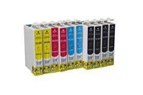 COMPATIBLE EPSON - T1285 Pack de 10 Cartouches génériques (T1281, T1282, T1283, T1284)