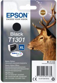 EPSON ORIGINAL - Epson T1301 XL Noir (25,4 ml) Cartouche de marque