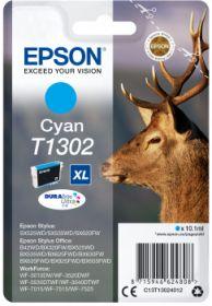 EPSON ORIGINAL - Epson T1302 XL Cyan (10,1 ml) Cartouche de marque